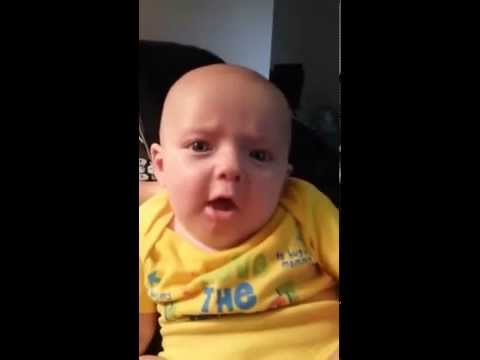 My 3 Month Old Baby Saying I Love You Youtube