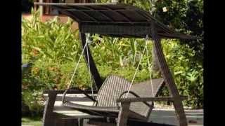 Уютные качели для дачи фото. Качели для дачи деревянные, из металла, садовые(Уютные качели для дачи фото. Качели для дачи деревянные, из металла, садовые . О садовых качелях мечтает..., 2015-05-28T19:14:52.000Z)