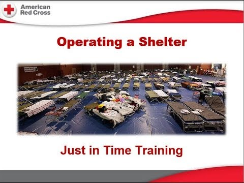 Operating  a Shelter Training Class - Sept. 8, 2017