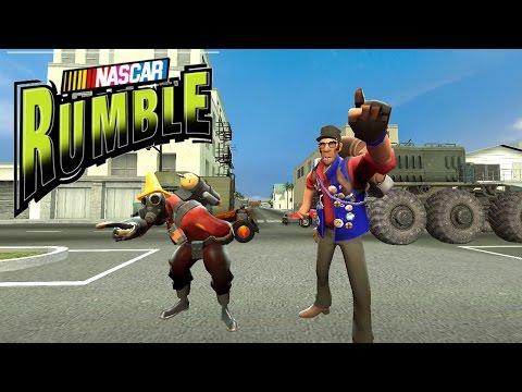 nascar rumble p1 | Doovi