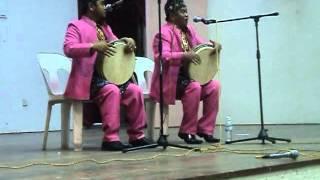 Madihin John Tralala bersama Hendra Wijaya
