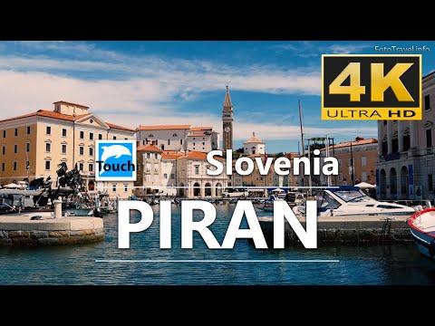 Piran, Slovenia - 4K