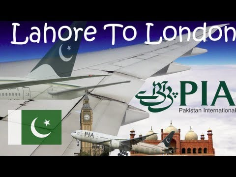 ✈FLIGHT REPORT✈ PIA Pakistan International Airlines, Lahore To London, Boeing 777-340ER, PK757