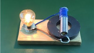 New Experiment Free Energy Power Magnet Electric Science Project At Home