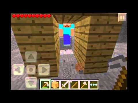 Herobrine on Minecraft Pocket Edition 0.8.0 (CAUGHT)