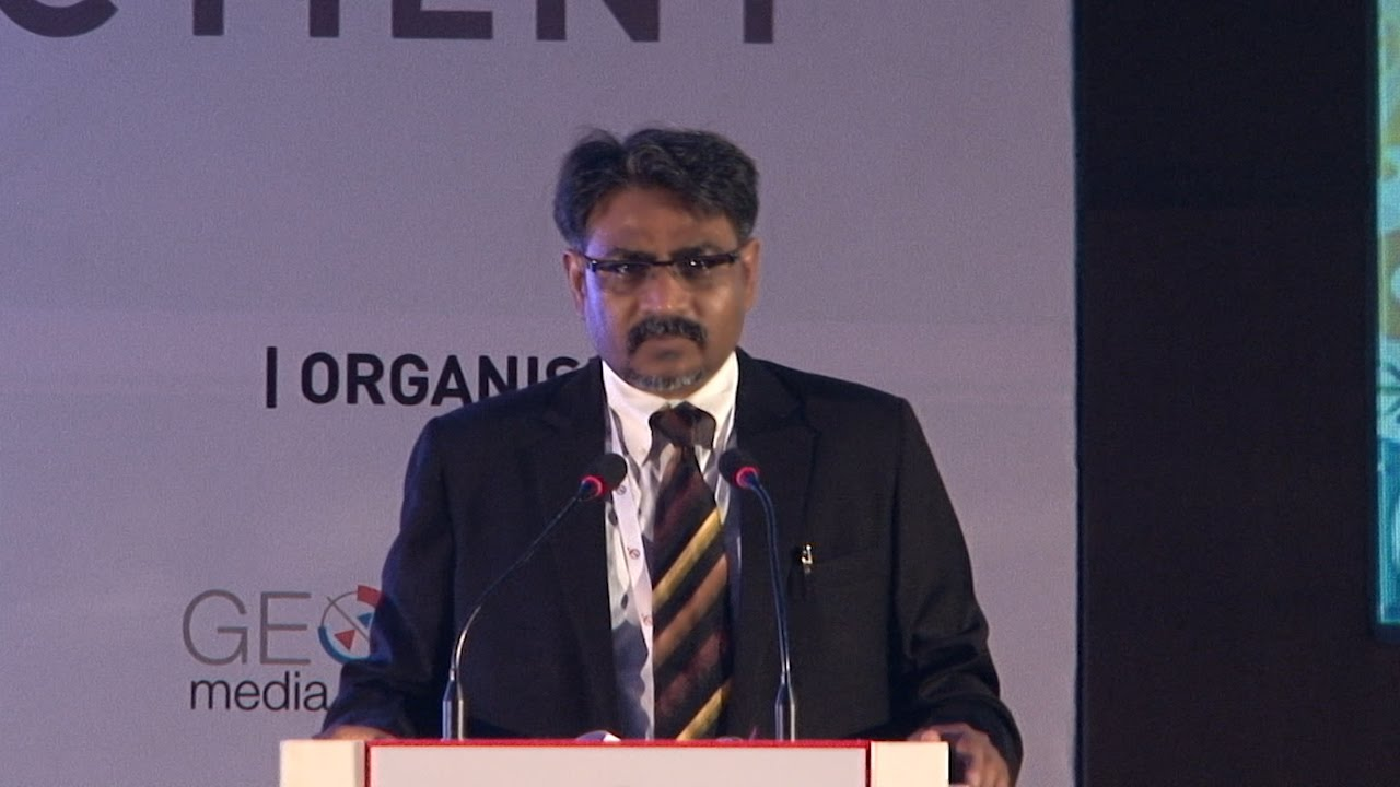 GeoSmart India 2016 - Welcome Note by Sanjay Kumar