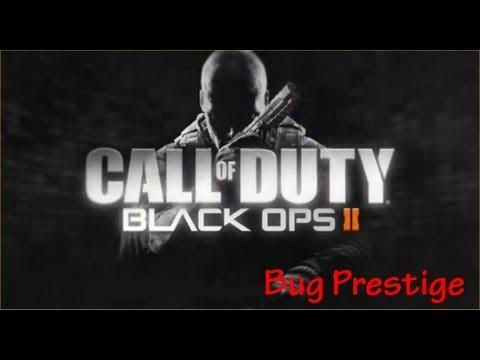 GLITCH | BO2 : Bug PRESTIGE 11 Black Ops 2 ( PS3 ) (email et mot de passe fournit)