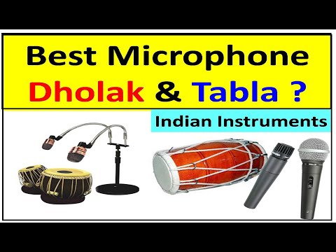 Best Microphone For Dholak & Tabla Indian Musical Instruments