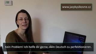 Skype-Unterricht mit mir. Němčina přes Skype s Naděždou Rojkovou.