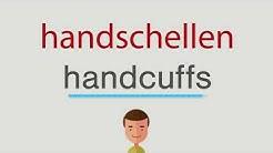 Wie heißt handschellen auf englisch