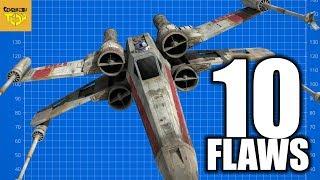 10 Flaws Star Wars - X Wing