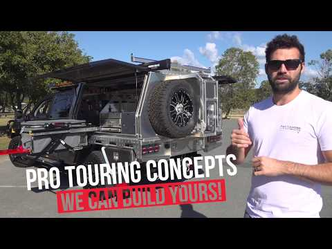 Landcruiser 200 Series Ute Chop Mega Build Vid - Pro Touring Concepts - Norweld