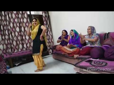Dance On Haryanavi Lok Geet (jija Daman Sema Da O.....)!!