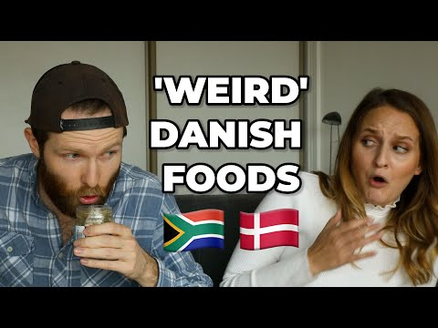 SOUTH AFRICANS TRY \'WEIRD\' DANISH FOOD!