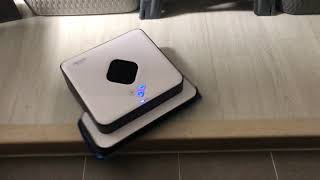 아이로봇 브라바 390T 추락방지센서 테스트