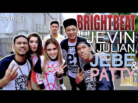 BRIGHTBEAT feat JVN,JEBE & PATTY - KONSER NOMINASI AMI AWARDS,22 SEPT 2016 #vlog1