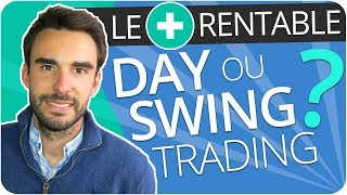 Le DAY TRADING est-il plus RENTABLE que le SWING TRADING ?