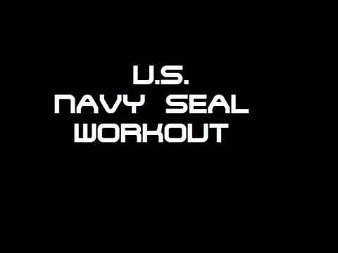 U.S. NAVY SEALs Workout [OFFICIAL] - Training for everyone !