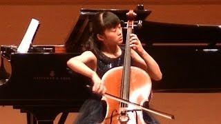 カバレフスキーKabalevskyチェロ協奏曲第1番第1楽章ト短調 作品49 Cello Concerto No. 1 Op. 49/MARINA 麻莉菜 age15歳2016.8葛飾