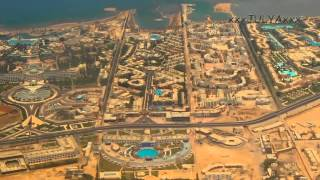 Вид из самолёта (Египет, Хургада) - View from the plane (Egypt, Hurghada)