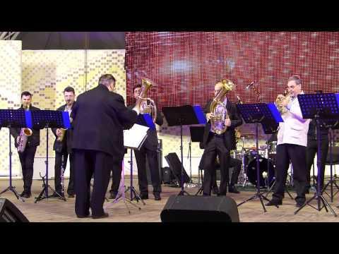 Timisoara Big Band - mic concert la festivalul vinului 2014 - Parcul Rozelor