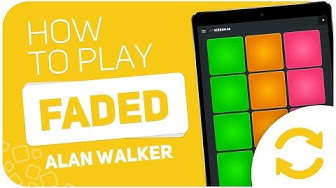 How to play: FADED (Alan Walker) - SUPER PADS - Kit SCREAM AB