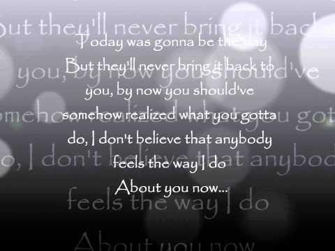Wonderwall by Ryan Adams (Lyrics)