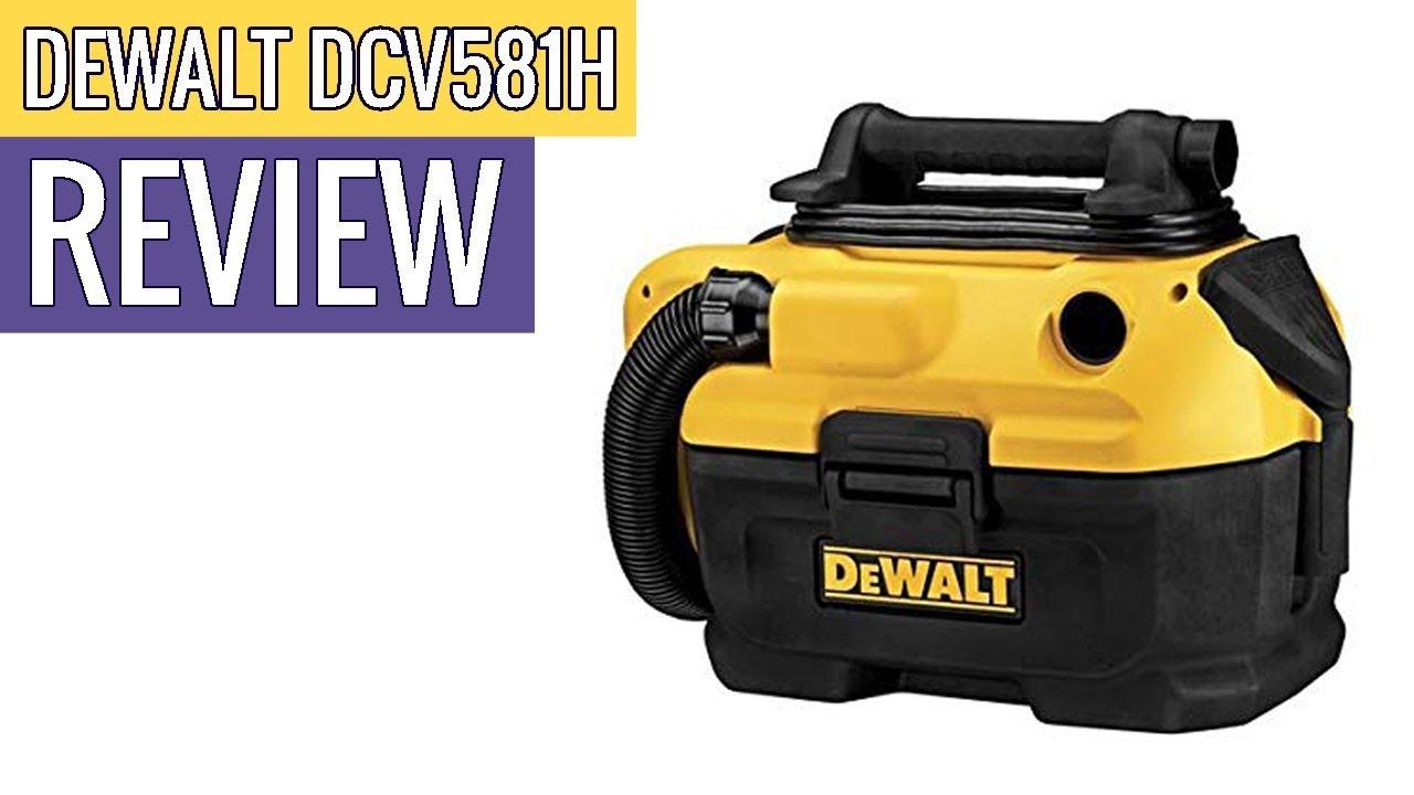 Dewalt DCV581H 18//20-Volt MAX Cordless//Corded Wet-Dry Vacuum