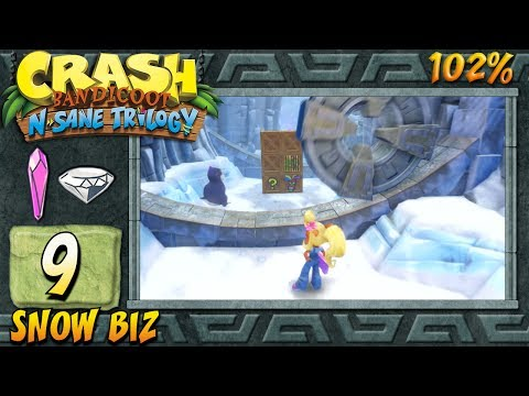 Crash Bandicoot 2 : N. Sane Trilogy (ITA)-9- Snow Biz [102%]