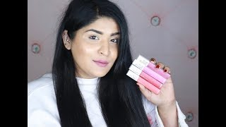 *NEW* Maybelline Superstay Matte Ink Liquid Lipstick Review & Swatches | All Shades | Shreya Jain