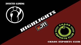 CHAOS vs IG | EPIC JT- PUDGE | Summit 11 Minor Highlights 2019 Dota 2