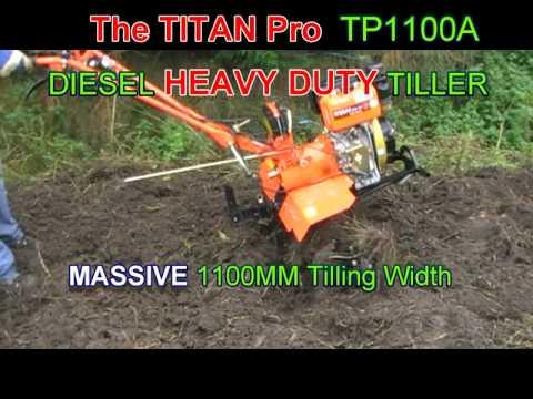 Handle Knobs for Titan Pro Tiller Rotavators TP700