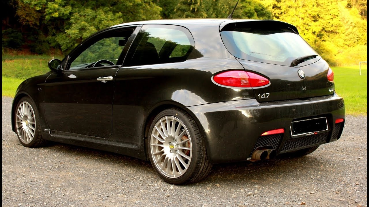 my 04 alfa romeo 147 gta black wolk around youtube. Black Bedroom Furniture Sets. Home Design Ideas