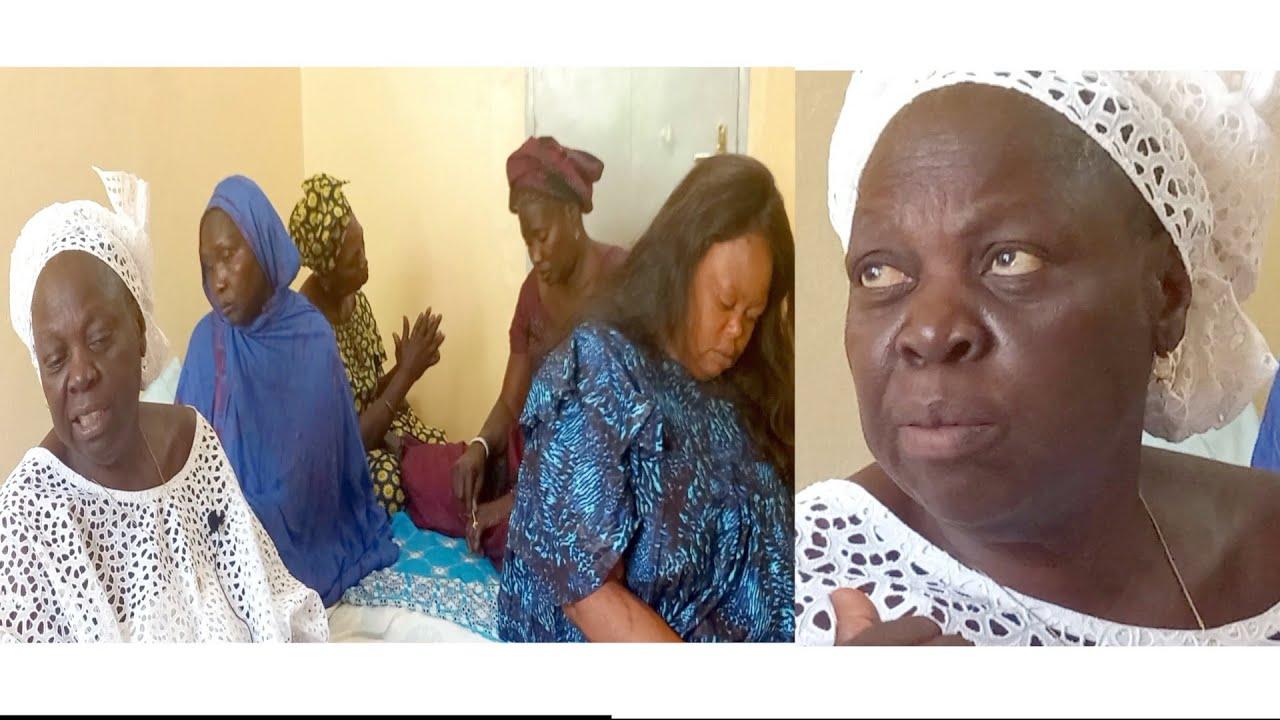 Grand retour de la diva de la lutte Sénégalaise Mayé Ndép Ngom au drapeau du chef de létat