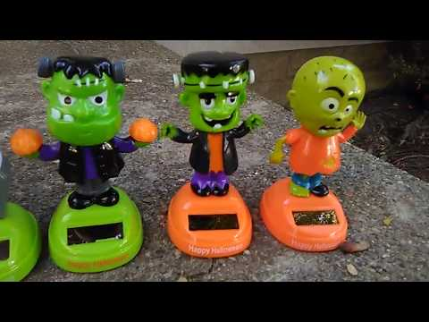 The Future Presents 2018 Dollar General Halloween Dancing Solar Characters Showcase & Review