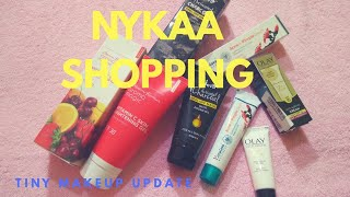 Nykaa Independence Day Shopping Unboxing l 45-449rs l Tiny Makeup Update
