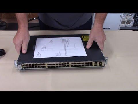 NE-vBlog #7 - $50 Ebay Cisco 3750 Ethernet Switch