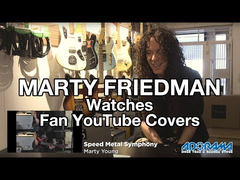 MARTY FRIEDMAN Watches Fan YouTube Guitar Covers | MetalSucks