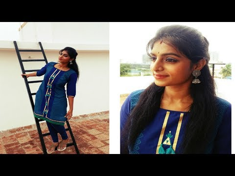 Festive Look For Office | Simple & Fresh Diwali Look