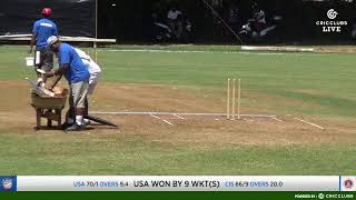 ICC Men's T20 World Cup Americas Region Final 2019: CAYMAN ISLANDS VS USA