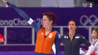 JO 2018 : Patinage de vitesse Femmes - 1000 mètres. Le titre olympique pour Jorien ter Mors !