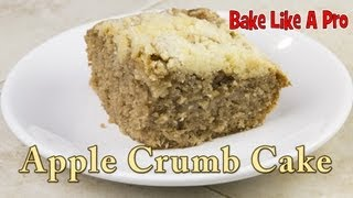 Easy And Delicious Apple Crumb Cake Recipe !