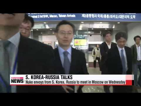 South Korean nuke envoy in Moscow for North Korea nuke talks