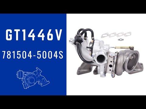 Cruze 1.4L Turbocharger 781504 Sedan EcoTec A14NET Engine 103Kw 140HP