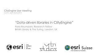 CEUM 2019 Data-driven libraries in CityEngine