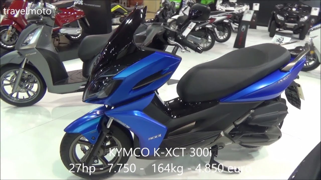 the kymco k xct 300i scooter 2017 youtube. Black Bedroom Furniture Sets. Home Design Ideas