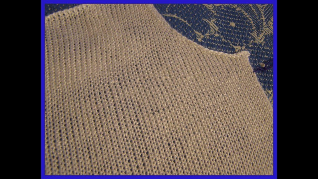 Вертикальная вытачка в вязании