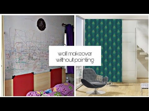 How to Hide bad walls without paint  Your problem my