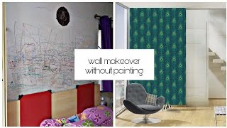 How to Hide bad walls without paint    Your problem my solution E08    Interior Maata