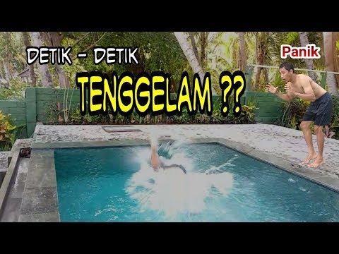 VIRAL!! Detik-detik tenggelam saat berenang II VlogHP1 Edisi Weekend